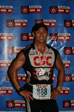 ironman triathlon finish