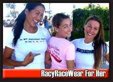 Racy Race Wear For Her